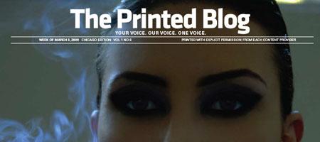 The Printed Blog: Blogeinträge ohne Web 2.0