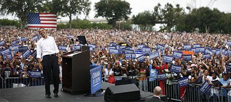 Damon Winter von der NY Times fotografierte Obamas Wahlkampf (Keystone)