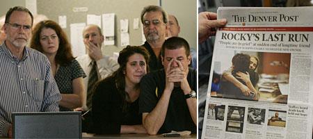 Bilderstrecke: Abschied von den Rocky Mountain News (Keystone, 8 Bilder)