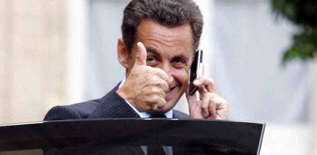 Sarkozy (Bild Keystone)