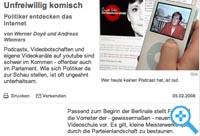 Angela Merkel Videopodcast