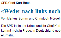 Screenshot Weltwoche Mörgeli Beck