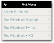 Freunde finden