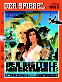 Spiegel-Cover Maskenball
