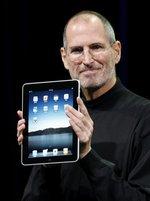 Heilbringer oder Teufel? Steve Jobs mit iPad (Keystone/AP/ Paul Sakuma)