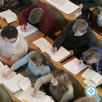 Vorlesung an der Berliner Humboldt Universität: Finde den Laptop (Bild Keystone/Franka Bruns)