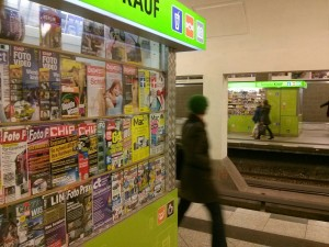 Für den klassischen Zeitungskiosk gibt es bislang keine digitale Entsprechung.