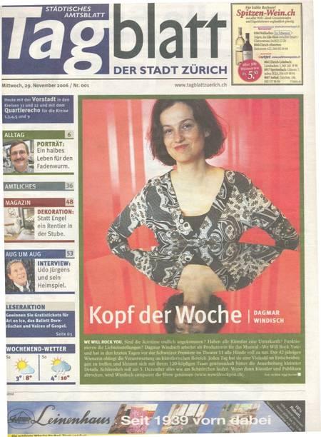Tagblatt Stadt-Zuerich 2006-11-29