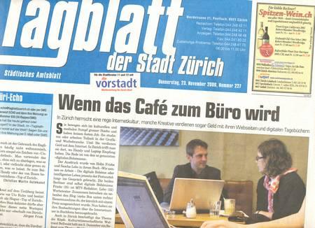 Tagblatt digitale Bohème