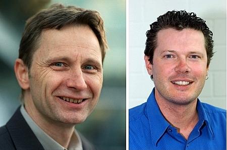 Res Strehle (links) und Markus Eisenhut. Beide Bilder sind nicht aktuell. (Keystone)