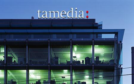 Tamedia: Boulevard-Dämmerung (Keystone)