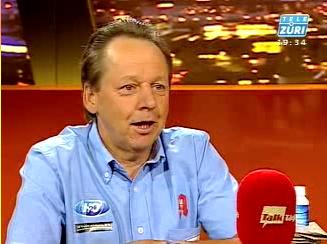 Tele Züri Beat Breu mit Logo