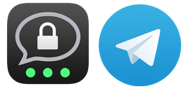Threema & Telegram