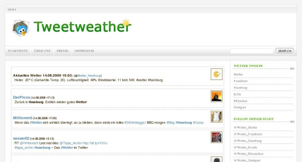 tweetweather