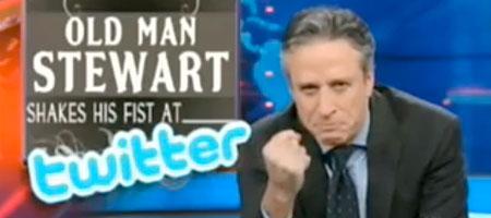 The Daily Show: Der alte Mann und das Twitter (Screenshot)