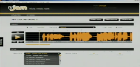 UJAM in Aktion (Screenshot aus dem Livestream)