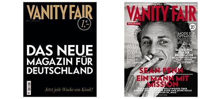Vanity Fair: Erste Ausgabe 2007, aktuelles Heft 2009
