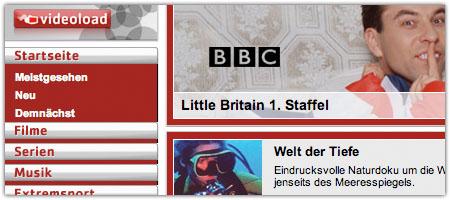 BBC-Serie von der Telekom: Gratisecke im Netz (Screenshot)