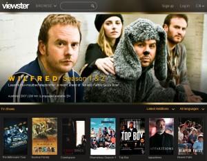 "Offizielles Angebot mit der bekannten Serie ""Wilfred"". Screenshot: Viewster"