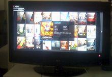 Video-Dienst Voddler auf meinem Fernseher