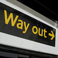 Hier geht\'s raus (Bild Revers, Creative-Commons-Lizenz)