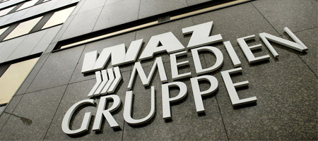 WAZ-Zentrale in Essen: Überzeugende Mischung? (Keystone)