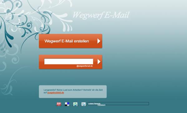 Wegwerf E-Mail
