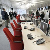 Newsroom bei Axel Springer: Hier entstehen Welt und Berliner Morgenpost (Keystone)