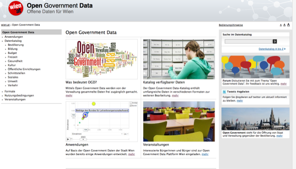 Open Government Data Wien