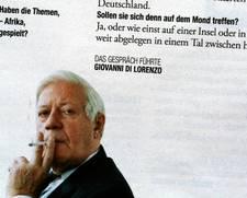 Zeit Magazin Helmut Schmidt