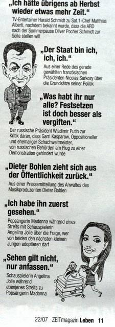 Zeit Magazin Sarkozy