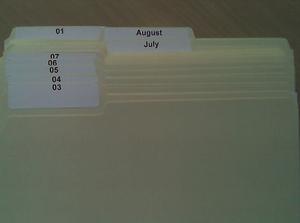 Ein Teil eines Tickler Files (Bild: vlauria/Flickr)