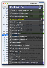 Mail Act-On Screenshot