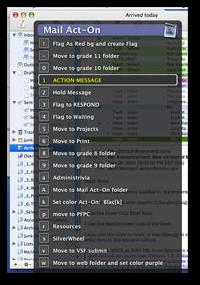 Mail Act-On Screenshot