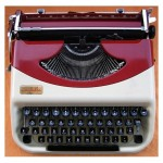 Antares Annabella Manual Portable Typewriter
