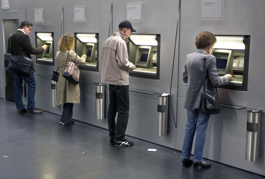Das Automatennetz - eines der Kriterien für die Wahl einer Bank