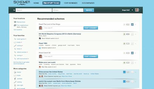 Find Stuff to do in Schemer.com