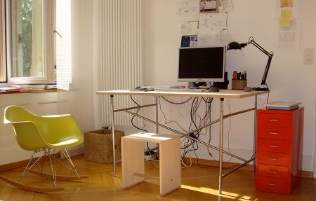 Eiermann, Bill, Eames, Ikea: Mein Arbeitsplatz
