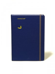 everyday book in Blau
