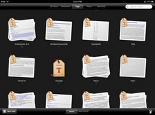 Files werden auf dem iPad von den Anwendugnen verwaltet.