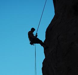 Die VEGAZ-Methode: Eine verbale Kletterhilfe (Bild: Jasen Miller/Flickr)