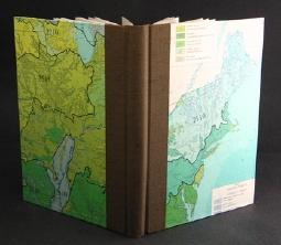 Notizbuch mit Landkarten-Umschlag