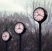 Es gibt mehr als nur eine Zeit. (Bild: Keystone/AP Photo/Edgar R. Schoepal)