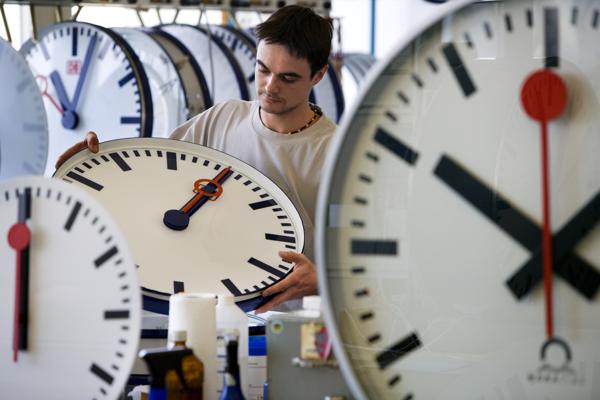 Mit dem richtigen System fürs Zeitmanagement läuft alles von alleine? Leider nicht. (Bild: Keystone/Martin Ruetschi)