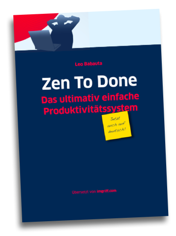 Zen To Done - Das E-Book auf deutsch