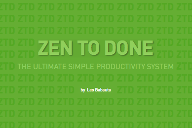 Cover ?Zen To Done?