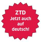 Das ZTD-E-Book kommt morgen